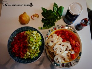 Ingredient one-pot pasta recette dietetique