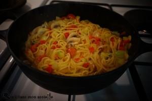One-pot-pasta cuit