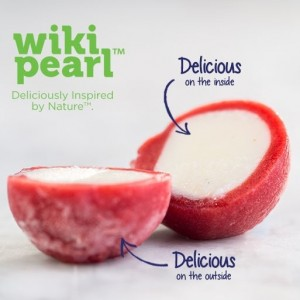 Wikipearl perle de yaourt emballage comestible