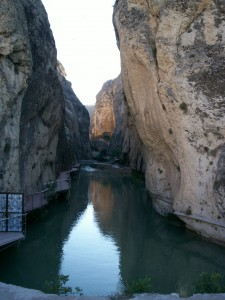 canyon Tohma water