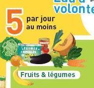 repère PNNS 5 fruits légumes par jour