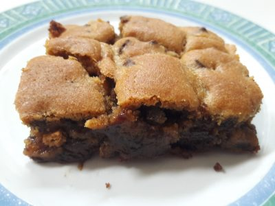 Brookies recette gateau brownie cookie melange