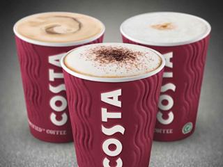 Costa coffee cafe sucre