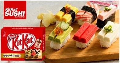 Kitkat sushi 2016 poisson d'avril aprilfool 2
