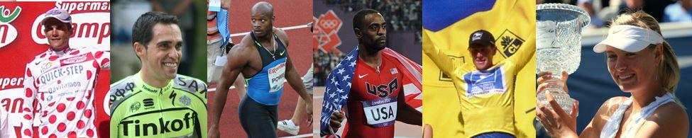 sportif athlètes dopés champions dopages vainqueurs