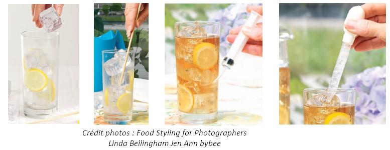 photographie boisson fraîche montage packaging