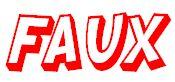 Faux logo