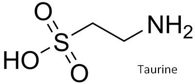 taurine structure molecule