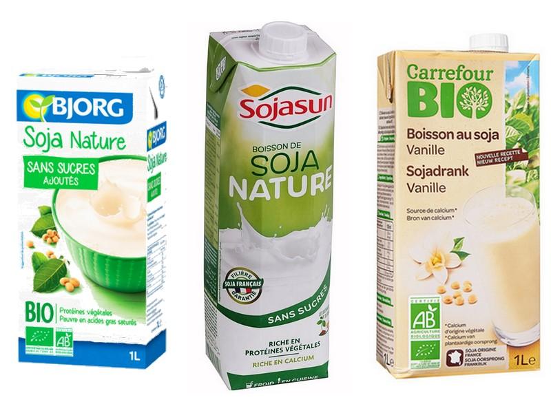 boissons végétales soja dénomination france