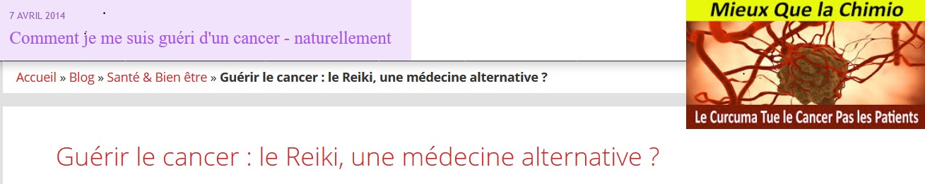 fausses informations médecines alternative cancer