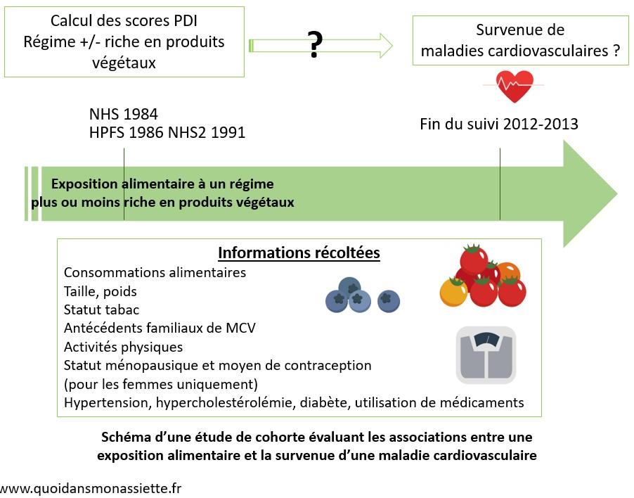 schema cohorte nutrition sante survenue