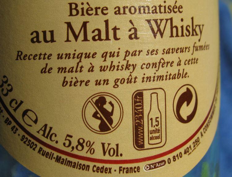 degre alcoolique etiquetage