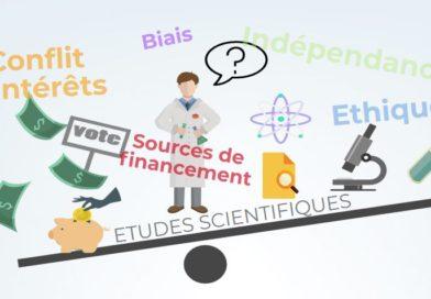 Conflits intérêts sciences recherche financements biais