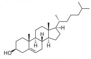Cholesterol molecule hypercholesterolemie