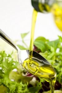 Cuillere Huile végétale lipide oméga 3 nutrition