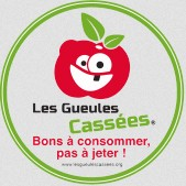 Etiquette anti-gaspillage Fruits legumes Gueules casses