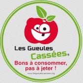 Etiquette anti-gaspillage Fruits legumes Gueules casses