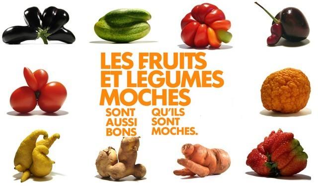 """Fruits et légumes """"moches"""" :  lutte contre le gaspillage alimentaire"""