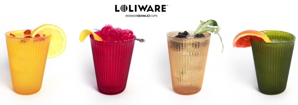LOLIWARE verre comestible edible cup 2