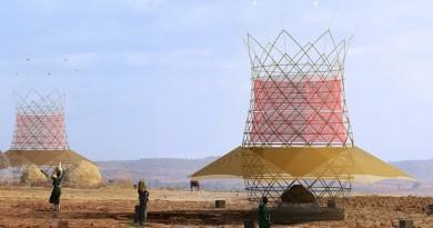 Warka Tower collecteur humidite eau desert 2