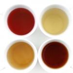Oxydation couleur thé