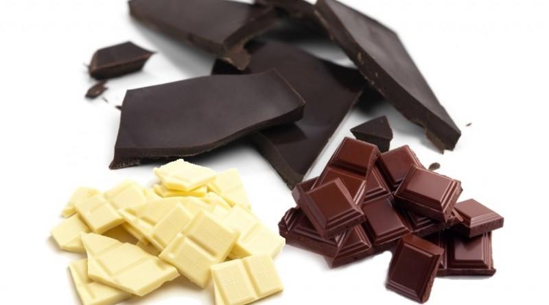 differences chocolat noir blanc au lait nutrition composition gout