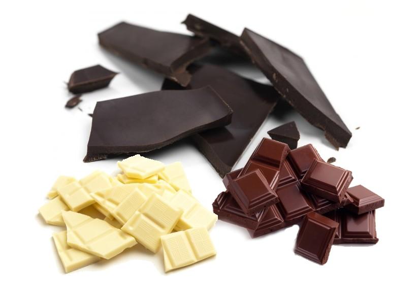 chocolats noir au lait ou blanc quelles diff rences quoi dans mon assiette. Black Bedroom Furniture Sets. Home Design Ideas