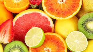 Agrumes vitamine C fruits