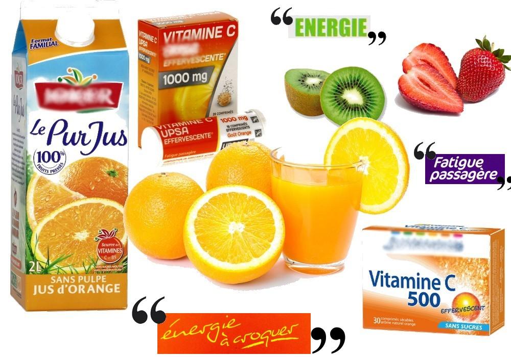 Les compléments en vitamine C : placébo ou effet anti-fatigue ?