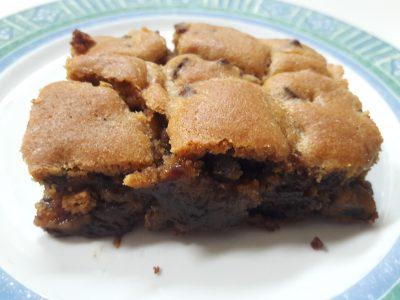 Brookies recette gateau brownie cookie melange