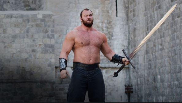 Game of thrones Ser gregor Clegane Moutain Montagne