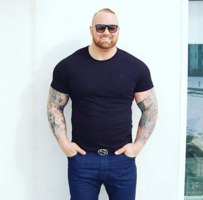 Hafþór Björnsson mountain game of thrones diet régime