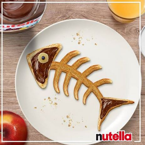 Poissons d'avril nutella 2016
