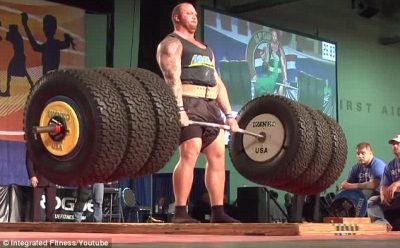 thor bjornsson lift 994 pounds strong man