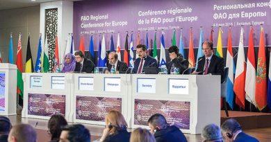 FAO conference regionale Europe 2016 turquie