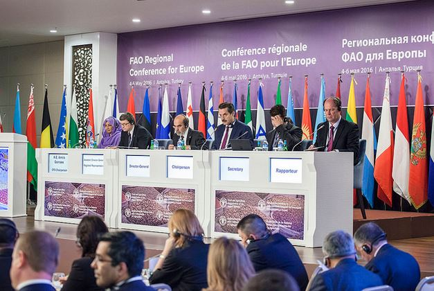 FAO conference regionale Europe 2016 turquie