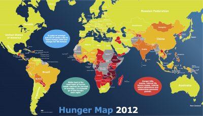 carte sous-nutrition undernourishment world mondial