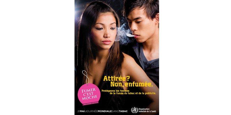 journee mondiale sans tabac oms affiche prevention 2