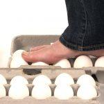 marcher sur des oeufs walking on eggs