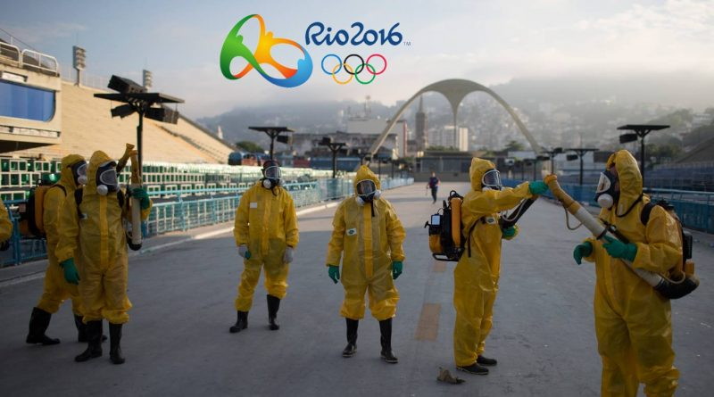 zika virus jeux olympiques Bresil Rio brazil olympic game mosquito moustique