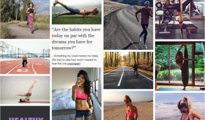 fitspiration fitspo example sport blog