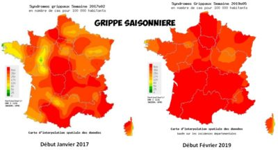 incidence grippe france 2017-2019