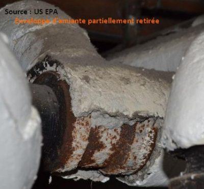 amiante tuyau asbestos