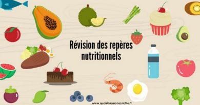 révision des repères nutritionnels PNNS 2017-2021