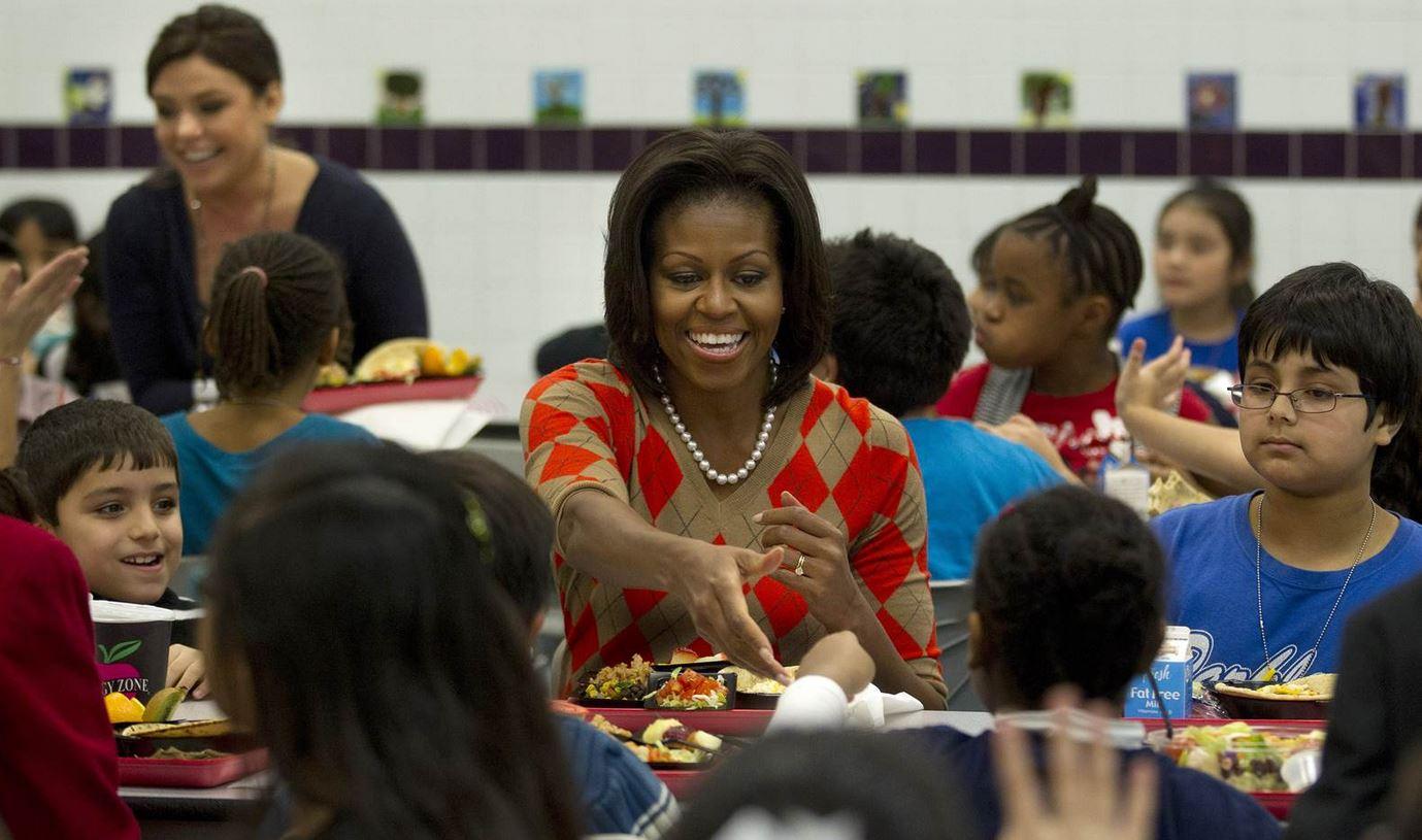 Annulation du programme anti-obésité infantile de Michelle Obama par l'administration Trump
