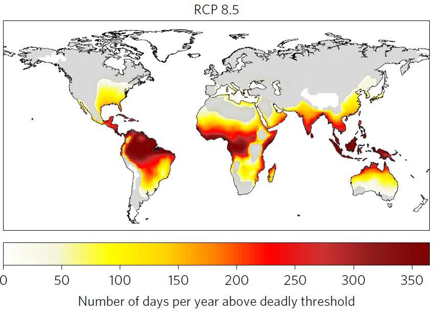 Les épisodes de chaleur extrême et le risque d'en mourir concernent aujourd'hui 1 personne sur 3