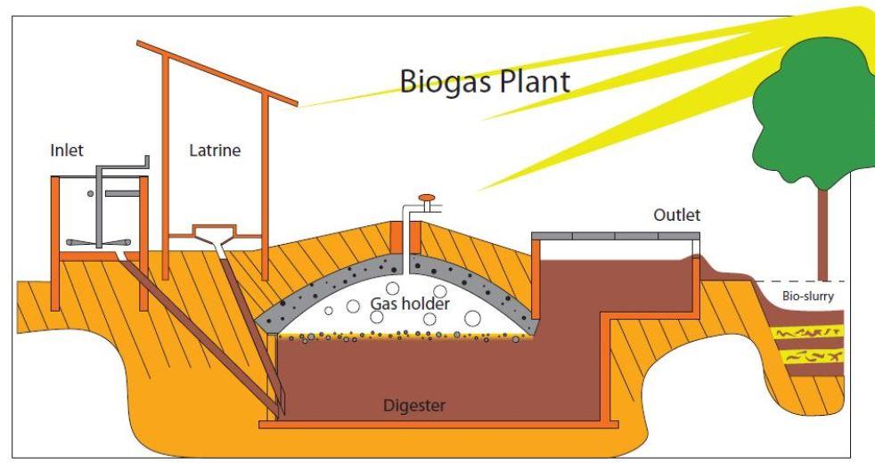 biogaz excrement fecale energie matière fecès biogas