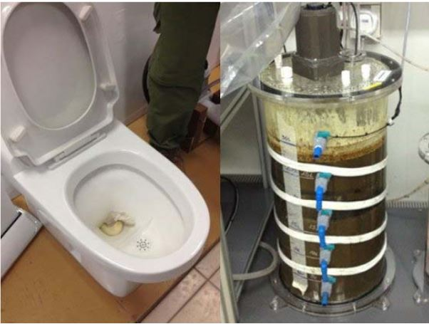 no mix vacuum toilet excrement biogaz energie