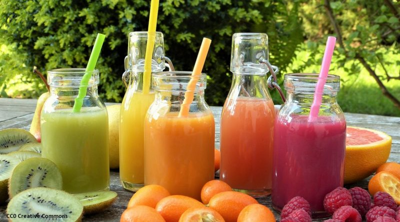 jus de fruits pur smoothies sucre nutrition