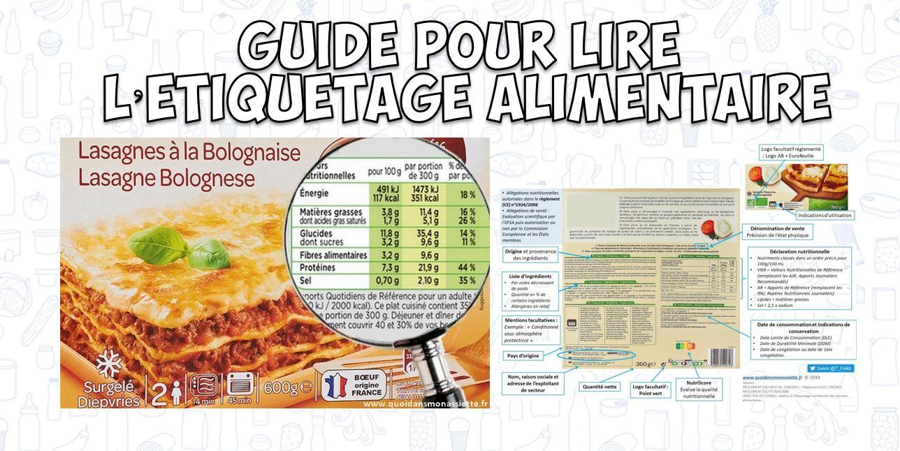 Guide Sur L Etiquetage Alimentaire Reglement Inco Et Declaration Nutritionnelle Savoir Lire Un Emballage Et La Liste D Ingredients Quoi Dans Mon Assiette